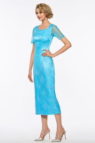 Čaj délka A-Čára Dva kusy Iluze Podzim Krátké rukávy Matky šaty - Strana 6
