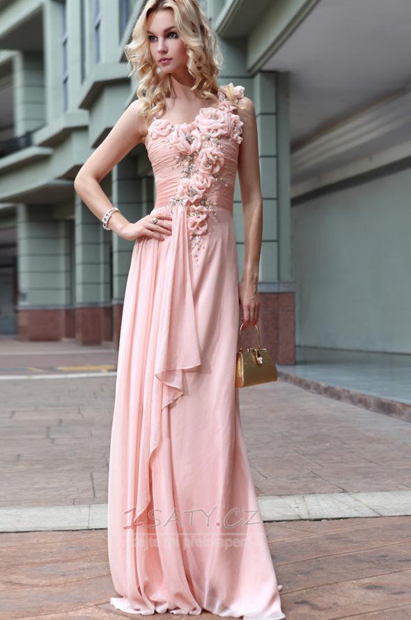 Elegantní večerní šaty